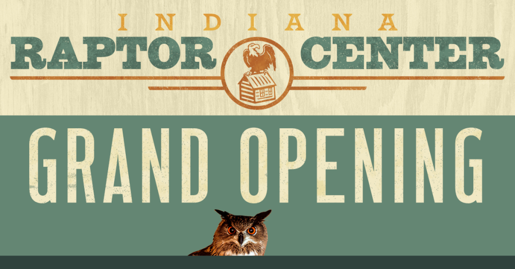 Indiana Raptor Center website grand opening