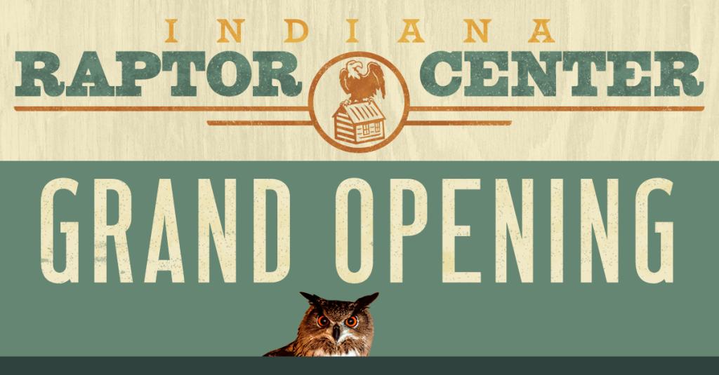 Indiana Raptor Center website grand opening