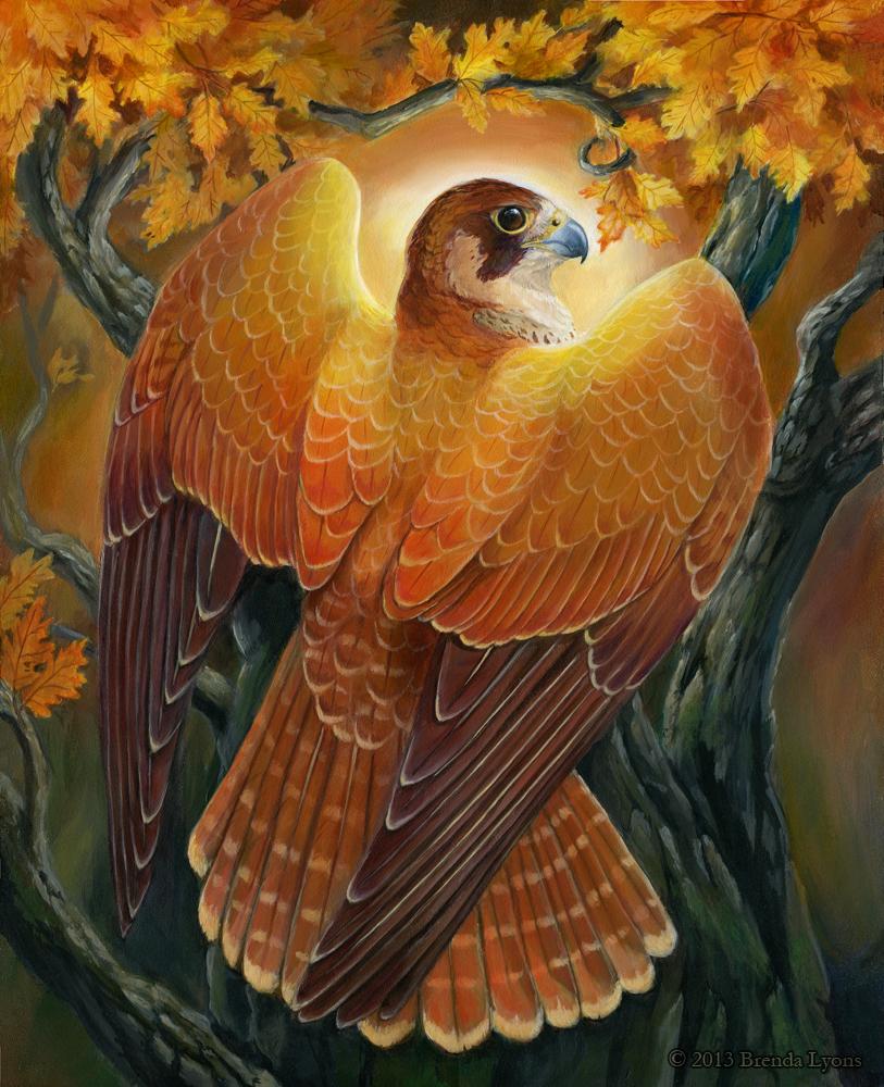 Voice of Autumn Light by Brenda Lyons.